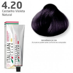 COLORAÇÃO ITALLIAN COLOR 60G VIOLETA NATURAL 4.20