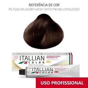 COLORAÇÃO ITALLIAN COLOR 60G MOGNO CLARO 6.5