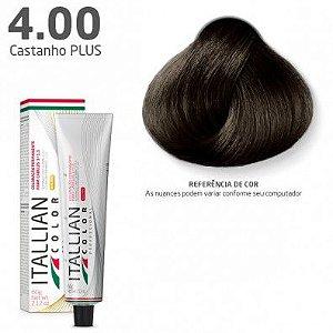 COLORAÇÃO ITALLIAN COLOR 60G CASTANHO PLUS 4.00