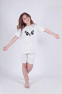 Kit Pijama Panda