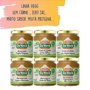 Sopinha Veg | Sem carne 8+ | kit com 6 unidades