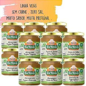 Sopinhas Veg | Sem carne 8+ | kit com 12 unidades