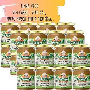 Sopinhas Veg | Sem carne 8+ | kit com 24 unidades