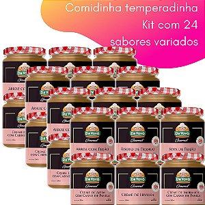 Comidinha Temperadinha - kit com 24 unidades