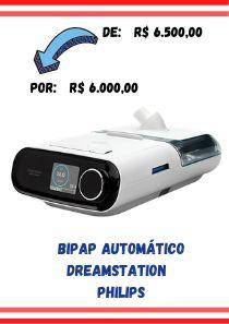 Bipap Automático Dreamstation + Umidificador - Philips