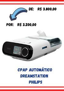 CPAP Automático Dreamstation + Umidificador -  Philips