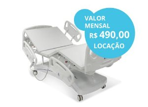 CAMA HOSPITALAR ELÉTRICA CLEAN PDL1029