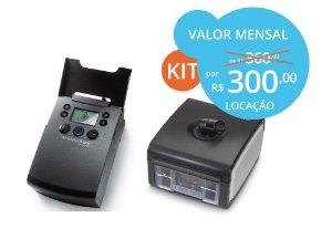 #KIT CPAP AUTO A-FLEX + BASE DE UMIDIFICAÇÃO