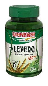 Levedo 450mg - 400 comprimidos