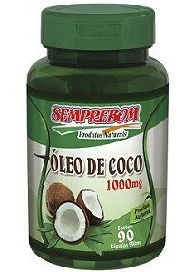 Óleo de Coco 1000mg - 90 cápsulas