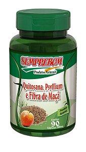 Quitosana, Psyllium e Fibra de Maçã