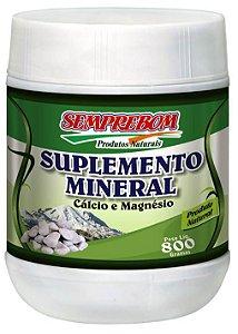 Suplemento Mineral - Cálcio e Magnésio 800g