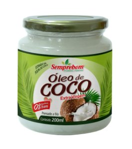 Óleo de Coco Extravirgem - 200ml