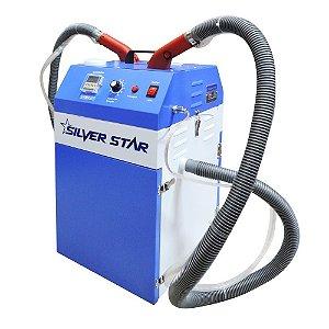 Máquina de Cortar e Arrematar Fios e Linhas 2 Cabeças