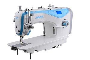 Máquina Reta Eletrônica Jack A3 Corte + Levante Automático + Arremates
