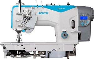Máquina Pespontadeira 2 agulhas Eletrônica Jack com Desligamento JK58720J405