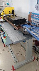 Máquina Fabricação de Máscaras + Aparelho de Dobras + Corte Automático + Fusionadeira + Suporte Rolos TNT (CORPO DA MÁSCARA)