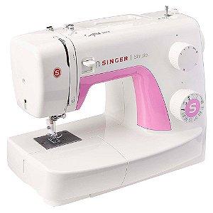Máquina de Costura Singer Simple 3223 branca e rosa 220V