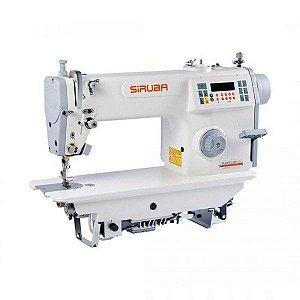 Máquina de Costura Reta Eletrônica Direct Drive Siruba ML8000 Carter Selado