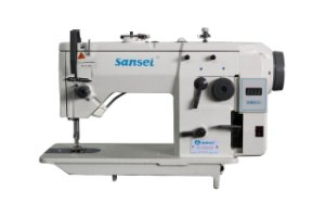 Máquina Zig Zag Sansei Direct Drive com Lubrificação Automática