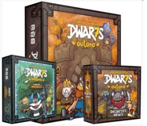 COMBO: DWar7s: Outono + Exp: Impérios + Decretos Reais