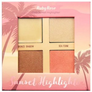 Iluminador Sunset Highlighter Dark Ruby Rose