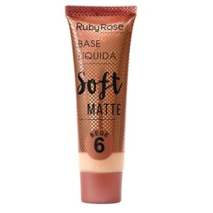 Base Líquida Soft Matte Ruby Rose Bege 6