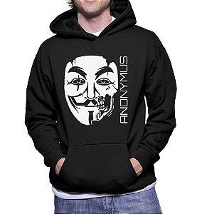 Moletom Masculino Anonymous Nerd Geek Filmes V De Vingança - Moletons Personalizados Blusa/ Casacos Baratos/ Blusão/ Jaqueta Canguru
