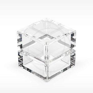 Cubo Frisado em Acrílico Modelo P