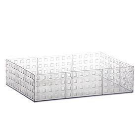 Organizador Empilhável Quadratta | 32X23X8CM - 837