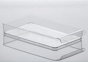 Organizador Gaveta Diamond 37,5 x 21 x 5,5 cm Cristal - 941