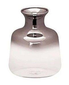 Vaso black niquel em vidro
