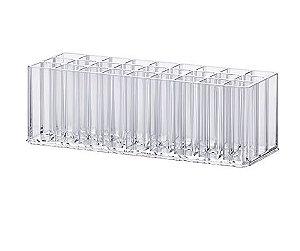Organizador de Pincéis e Gloss 23 x 8,5 x 7,5 cm - 1196
