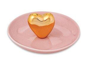 Porta bijoux coração em cerâmica