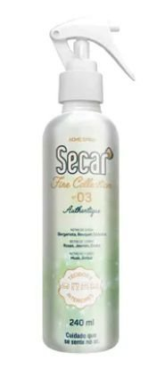 Home spray 240ml fine collection authertique secar