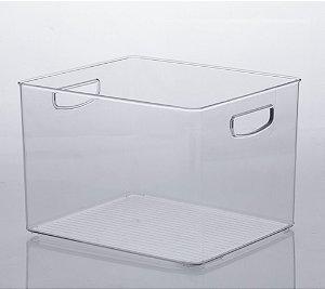 Organizador diamond 25 X 25 X 17cm cristal - 1073