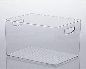 Organizador diamond 35 X 25 X 20cm cristal - 1075
