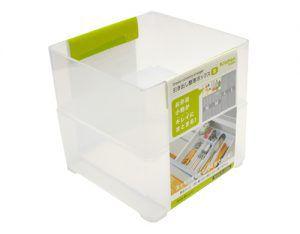 Organizador de gaveta quadrado modular S c/ 2 pçs