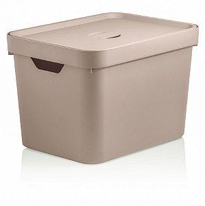Caixa Cube M c/tampa 18L