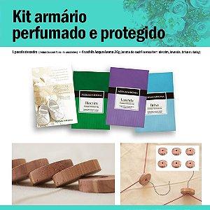 Kit armário perfumado e protegido