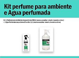 Kit perfume para ambiente e água perfumada