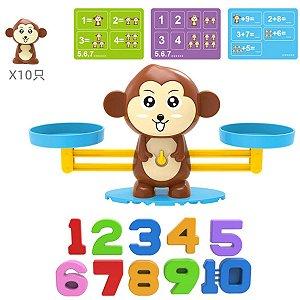 Brinquedo Educativo Balança Montessori Matemática