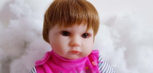 Boneca Bebe Reborn Larinha 45cm - BZL6XTPHD