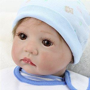 Boneca Bebe Reborn 55cm - M3YJ3ZY2X
