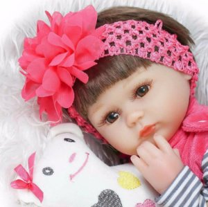 Boneca Bebe Reborn Larinha 45cm - S2MMDYWKT