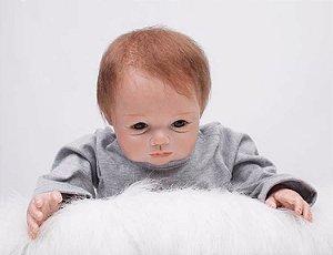 Boneca Bebe Reborn 55cm menino - SPGNJB82T