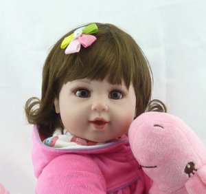 Linda Boneca Bebe Reborn 55cm  - 8YLAGVGUZ
