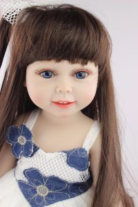 Boneca Bebe Reborn 55cm 100% Silicone - N8KMH7XDN