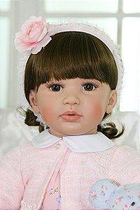 Boneca Bebe Reborn 60 Centímetros