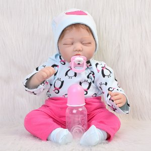 Bebê Reborn 55 Centimetros Dormindo  - 2CHNHE9WT